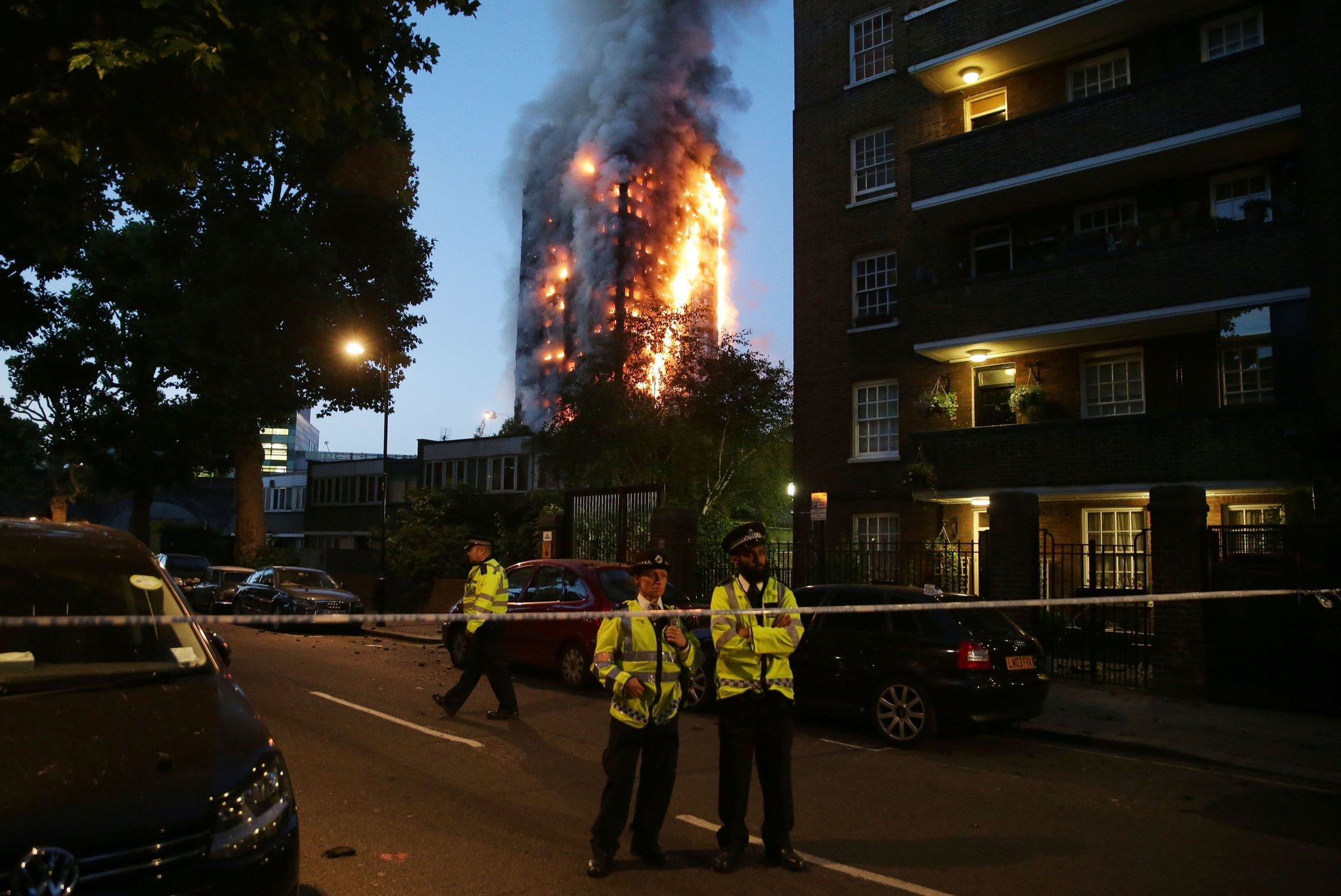 London fire June 14, 2017