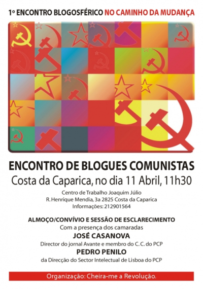 Encontro de blogs comunistas