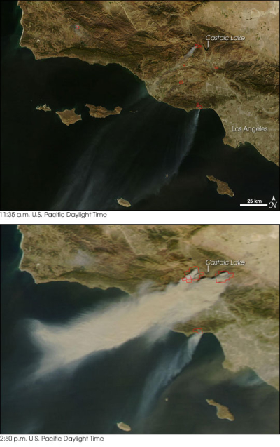 Incendios na California
